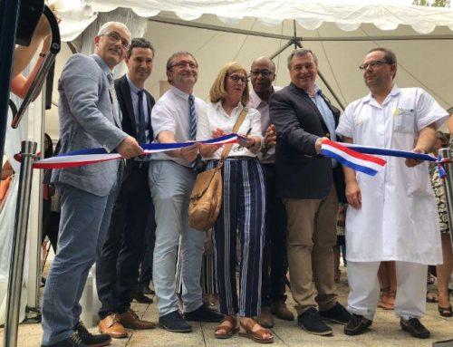 Inauguration plateforme PRIMMO par le maire d'Orléans Olivier Carré